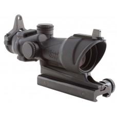 Trijicon 100091 ACOG 4x 32mm Obj 36.8 ft @ 100 yds FOV  Tube Dia Black Crosshair
