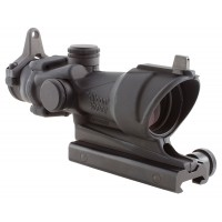 Trijicon 100092 ACOG 4x 32mm Obj 36.8 ft @ 100 yds FOV  Tube Dia Black Crosshair