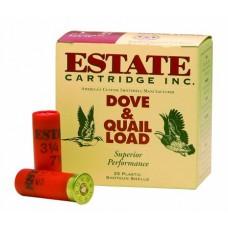 """Estate HG128 Upland Hunting Loads 12 Ga 2.75"""" 1-1/8 oz 8 Shot 25 Bx/ 10"""