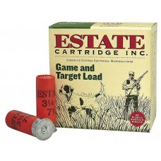 "Estate GTL128 Promo Game & Target 12 Ga 2.75"" 1 oz 8 Shot 25 Bx/ 10"