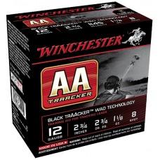 "Winchester Ammo AA128TB AA TrAAcker 12 Gauge 2.75"" 1-1/8 oz 8 Shot 25 Bx/ 10 Cs"