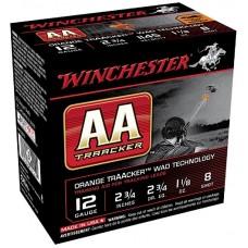 "Winchester Ammo AA128TO AA Heavy Tracker 12 Gauge 2.75"" 1-1/8 oz 8 Shot 25 Bx/ 10 Cs"