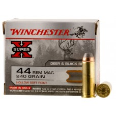 Winchester Ammo X44MHSP2 Special Buy 44 Remington Magnum 240 GR Hollow Soft Point 20 Bx/ 10 Cs