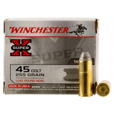 Winchester Ammo X45CP2 Special Buy 45 Colt (LC) 255 GR Lead Round Nose 20 Bx/ 10 Cs