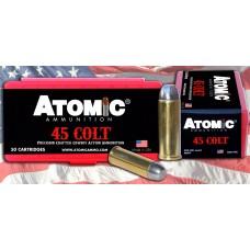 Atomic 00434 Cowboy Action 45 Colt (LC) 200 GR LRNFP 50 Bx/ 10 Cs