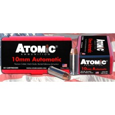 Atomic 00432 Defense 10mm Automatic 180 GR Bonded MHP 50 Bx/ 10 Cs