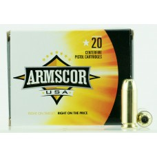 Armscor FAC103N 10mm Automatic 180 GR JHP 20 Bx/ 25 Cs