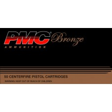 PMC 44B Bronze 44 Remington Magnum 180GR Jacketed Hollow Point 25 Box/20 Case