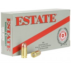 Estate ESH40165 Range 40 Smith & Wesson Full Metal Jacket 165GR 50Box/20Case