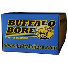 Buffalo Bore Ammunition 27A/20 380 ACP +P Hard Cast Flat Nose 100GR 20Box/12Case