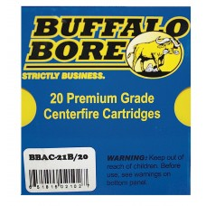 Buffalo Bore Ammunition 21B/20 10mm Automatic 180 GR JHP 20 Bx/ 12 Cs