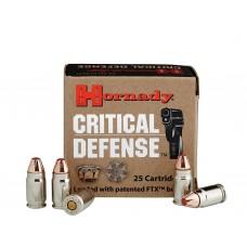 HORN 90070 Critical Defense 32NAA 80GR Flex Tip Expanding 25Bx/10Cs