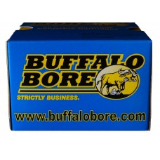 Buffalo Bore Ammo 32A/20 45 Auto Rim +P 255GR Hard Cast Flat Nose 20Bx/12Cs