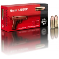 GECO 210040050 9mm Luger 124 GR FMJRN 50 Bx/ 20 Cs