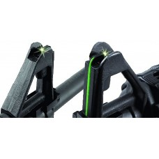 Williams 70229 FireSight AR-15 Green Fiber Optic Front A2 Style