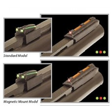 Truglo TG941XA Gobble-Dot Magnum Xtreme Shotgun Fiber Optic Red Front Green Rear Black