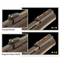 Truglo TG911XB Magnum GloDot Xtreme Shotgun Fiber Optic Green Black