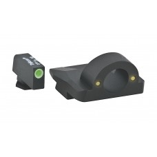 AmeriGlo GL126 Ghost Ring NS For Glock 20,21,30-32,36 Tritium F/R Green