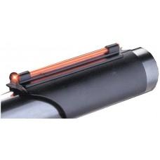 Truglo TG92B Glo-Dot II Universal 410 Gauge Plain Barrel Fiber Optic Red Black