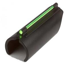 Truglo TG93B Glo-Dot II Universal 410 Gauge Plain Barrel Fiber Optic Green Black