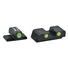AmeriGlo XD193 Classic Night Sights Springfield XD Green Front/Yellow Rear