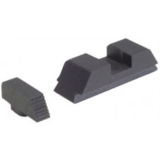 AmeriGlo GT504 Defoor Tactical Sights For Glock 9/40 Flat Black
