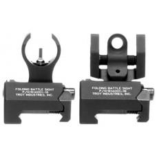 Troy IARSTBT00 Battle Sight Micro Set HK Front/Tritium Rear Black