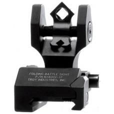 Troy DOARFBT00 Battle Sight Folding Rear DOA AR-15 Alum Blk