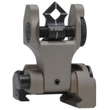 Troy DOARFFT00 Battle Sight Folding Rear DOA AR-15FDE