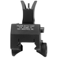 Troy GBFOMBT00 Battle Sight Front Gas Block Mounting M4 Black