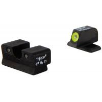 Trijicon SG103Y HD NS Sig 220/229 3Dot Yellow Tritium Front Blk Rear