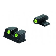 Meprolight 10110 Tru-Dot Handgun Night Sights Sig Sauer Tritium Green Tritium Green Black