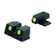 Meprolight 10129 Tru-Dot Handgun Night Sights Sig P229/P239 Tritium Green Tritium Green Black