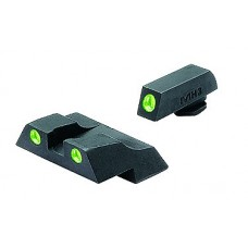 Meprolight 10226 Tru-Dot NS Fixed Set For Glock 26/27 Tritium Green Front/Rear