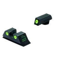 Meprolight 10222 Tru-Dot NS Fixed For Glock 10/45 20/21/29/30/36/41 Tritium Grn