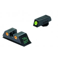 Meprolight 10224O Tru-Dot NS For Glock 9/40 17/19/22/23/31-35/37/38 Tritium Grn