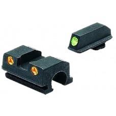 Meprolight 10110O Tru-Dot Handgun Night Sights Sig Sauer Tritium Green Tritium Orange Black