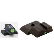 AmeriGlo SW141 i-Dot Night Sights S&W M&P Shield Tritium F/R Green