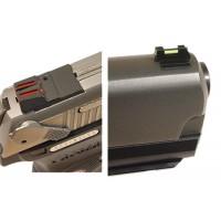 Williams 71031 FireSight Pistol S&W M&P Compact 22 LR Red Black