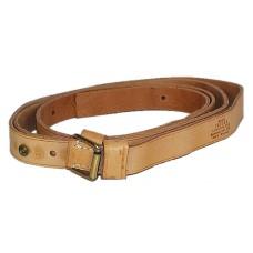 "Brownells 084004100 Latigo Sling w/Swivel 1"" Tan Leather"