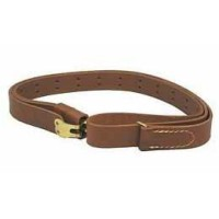 "Hunter Company 200125 Leather Military Sling 1.25"" Swivel Size Brown"