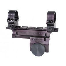 B-Square 14502 Ruger Mini 14 See Thru Dovetail Side Mount w/Rings Matte Black