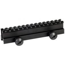Weaver 48321 Mounting Rails For AR-15 Weaver Style Matte Black Finish