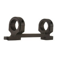 DNZ 42200 1-Pc Med Base & Ring Combo For Savage 93R17 Matte Black Finish