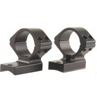 Talley 95X725 1-Piece Hi Base & Extension Ring Sav Mod 12 Accu Trigger Black