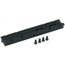 Rossi P801 1-Piece Base For Rossi Long Guns Weaver Style Matte Black Finish