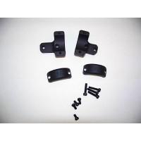 DNZ 701TM2 2-Piece Med Base/Rings For Howa Vanguard Style Matte Black Finish