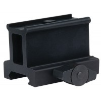 Weaver Mounts 99668 Optic Mount For AimPoint Micro Style Matte Black Finish