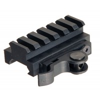 Aimshot MT61172 1-Piece Base For AR-15 Style Black Finish