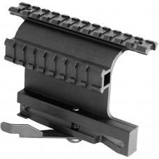 Aim Sports MK004S Dual Rail System For AK Variants Rail Mount Style Black Finish